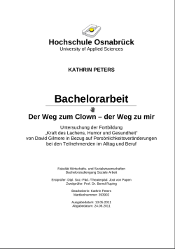 bachelorarbeit Kathrin Peters gilmore kl